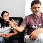 Raghubir Yadav with Roshni Achreja