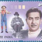 Raj Kapoor's Postal Stamp