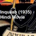 Raj Kapoor's debut film Inquilab