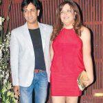 Rajev Paul with Sunaina Roshan