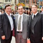 Rajiv Kapoor (Middle) with His Brothers Rishi Kapoor (Left) and Randhir Kapoor (Right)