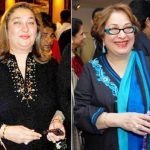 Rajiv Kapoor's Sisters- Rima Jain (left) and Ritu-Nanda (right)