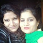 Raman Romana with her elder sister