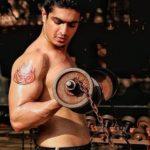 Ranveer Allahbadia's Om tattoo