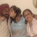 Raymon Singh with parents