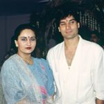 Reena Roy with Mohsin Khan