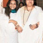 Reena Roy with her sister Barkha Roy