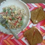 Reshma Tipnis Cooked Chicken Sausage Pasta For Her Son