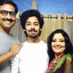 Riddhi Sen With His Parents