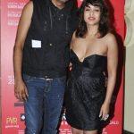 Rii Sen with Qaushiq Mukherjee