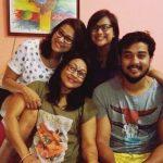 Rimpi Das with her family
