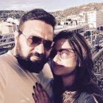 Rimpi Das with her husband