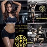 Rini Das's Gold's Gym poster