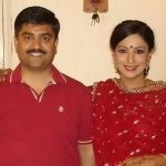 Ritu Vij with brother