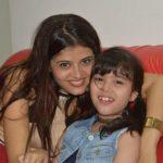 Riva Arora with her mother Nisha Arora