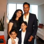 Rohan Chand With His Family