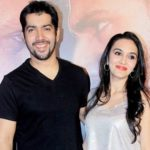 Rohit Dhawan with his wife