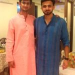 Romit Raj with his brother
