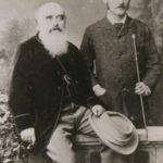 Rudyard Kipling With His Father John Lockwood Kipling