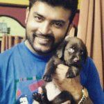 Sachin Choubey a pet lover