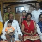 Sachin Gupta Family