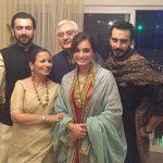 Sahil Sangha with his family