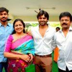 Sai Dharam Tej with his family