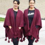 Sai Lokur with her sister
