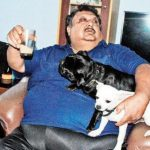 Sajal Chakraborty with his Pets