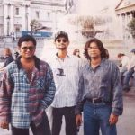 Sajjad ALi (R) With His Brothers Waqar Ali (L) and Lucky Ali (C)