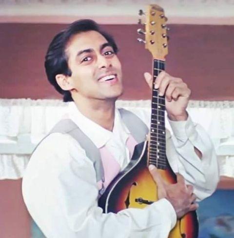 Salman Khan - Hum Aapke Hain Koun hairstyle
