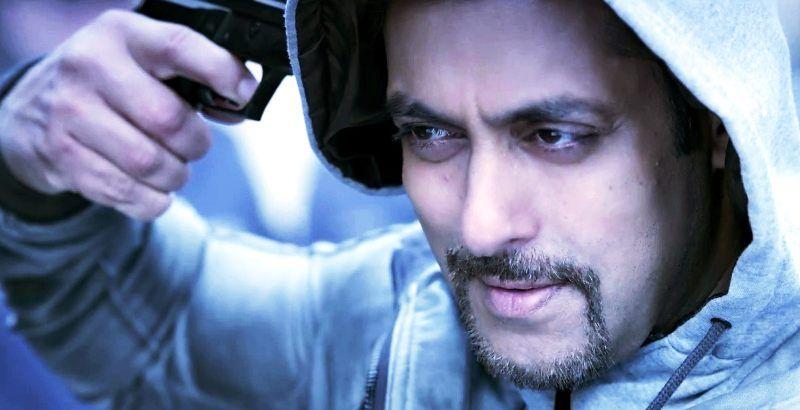 Salman Khan - Kick beard style