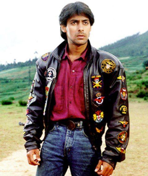 Salman Khan - Maine Pyar Kiya hairstyle