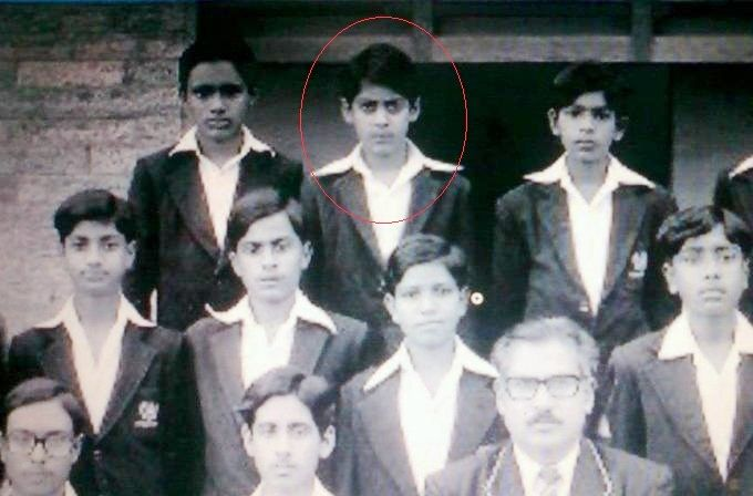 Salman Khan - School days hairstyle