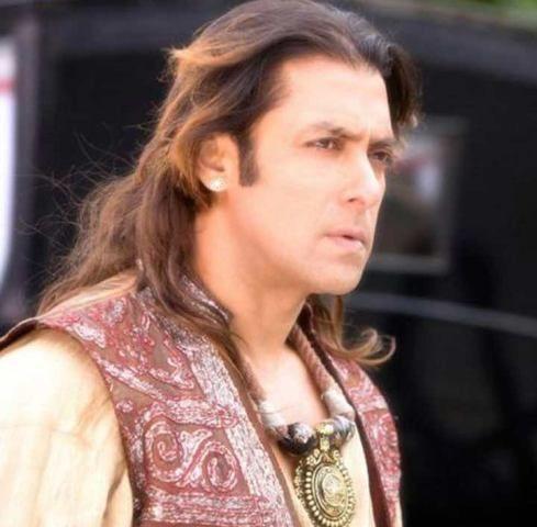 Salman Khan - Veer hairstyle