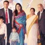 Samit Dravid parents, grandparents and brother