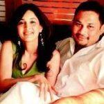 Sampada Vaze with her husband