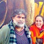 Sanjana Kapoor with her husband Valmik Thapar