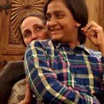 Sanjana Kapoor with her son Hamir Thapar