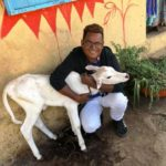 Sanjay Bairagi, an animal lover