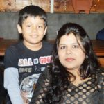 Sanjay Bairagi wife and son