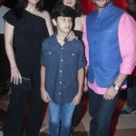 Sanjay Kapoor With His Wife (extreme left) Son Jahaan And Daughter Shanaya