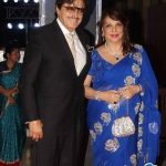 Sanjay Khan with Wife Zarine Khan