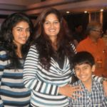 Sanjeev Seth's First Wife Resham Tipnis With Her Children