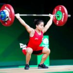 Sanjita Chanu Weightlifting
