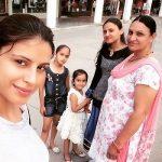 Sapna Thakur with Mother and Sister