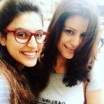 Sapn Thakur with sister Manisha
