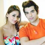 Paras Chhabra with Sara Khan