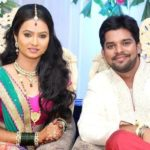 Sara Shrawan with her husband Ganesh Sonawane