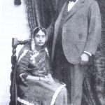 Sarat Chandra with his Wife Bivabati in 1921